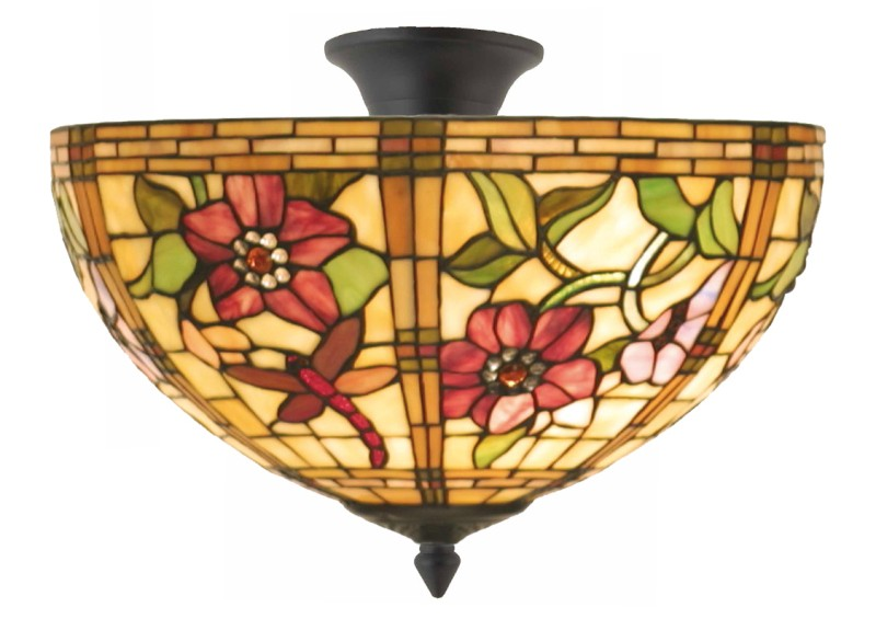 Tiffany plafondlamp Alabama 40/96