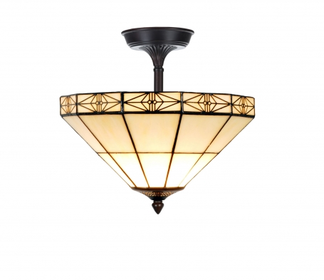 Tiffany plafondlamp Pretty 32/ Flow