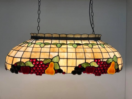 Tiffany leestafellamp biljartlamp Fruit