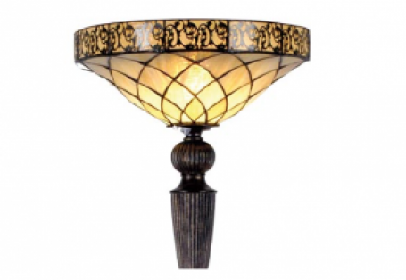 Tiffany vloerlamp Yesterday Uplight