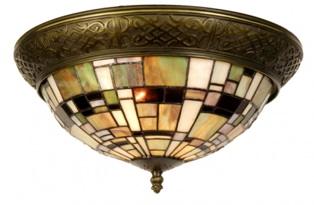 Tiffany plafondlamp Georgia Rand