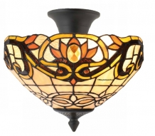 Tiffany plafondlamp Burlington 30/96