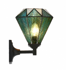 Tiffany Wandlamp Arata Green