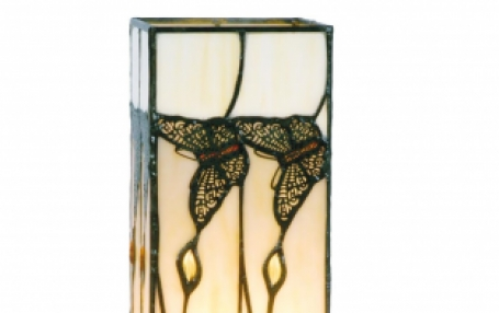 Tiffany windlicht Butterfly klein