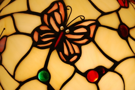 Tiffany hanglamp Papillon 50 / 97