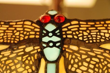 Tiffany plafondlamp Dragonfly Loose
