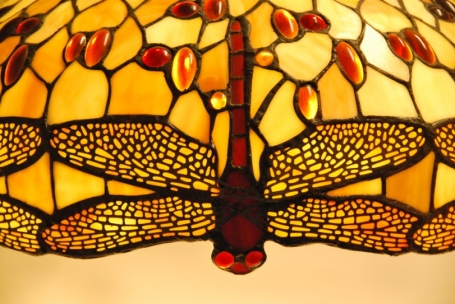 Tiffany hanglamp Dragonfly Beige  49 /97