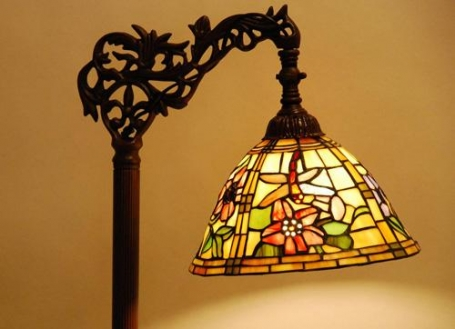 Tiffany leeslamp Alabama C