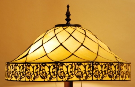 Tiffany vloerlamp Yesterday 54 Straight