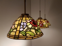 Tiffany hanglamp Alabama 25 Triple