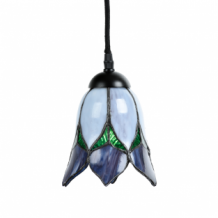 Tiffany Hanglamp Lovely Flower Purple