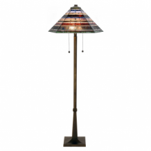 Tiffany Vloerlamp Industrial large