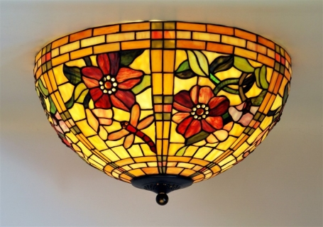 Tiffany plafondlamp Alabama 50/80