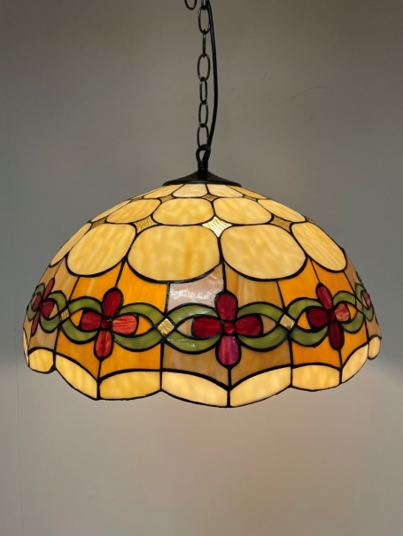 Tiffany hanglamp Cherry 50/98 3 fittingen