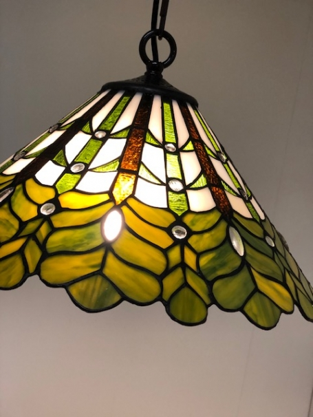 Tiffany hanglamp Forest