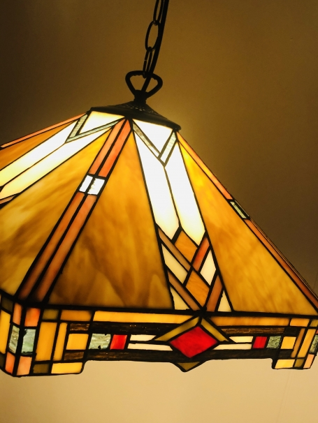 Tiffany hanglamp Wyber Angular 58 / 97