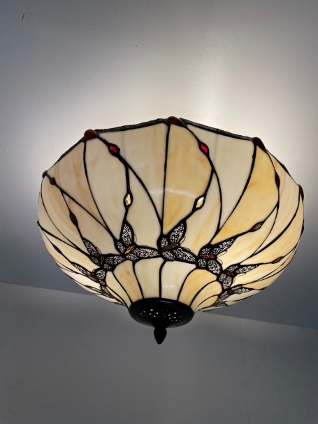 Tiffany plafondlamp Butterfly  50/ Flow