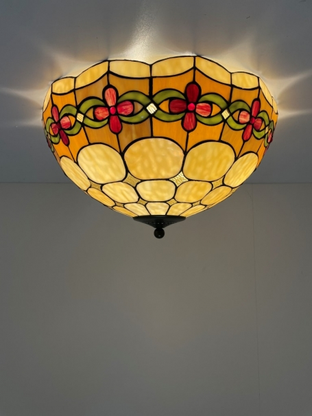 Tiffany plafondlamp Cherry 50/ 80