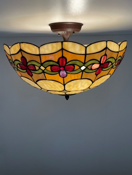 Tiffany plafondlamp Cherry 50/ Flow