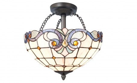Tiffany plafondlamp Kingston 40/82