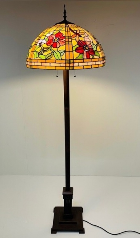 Tiffany vloerlamp Alabama 50 Base