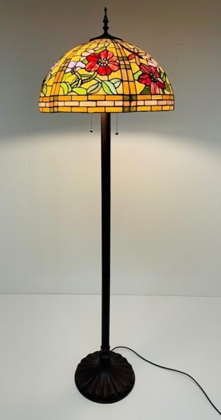 Tiffany vloerlamp Alabama 50 Straight