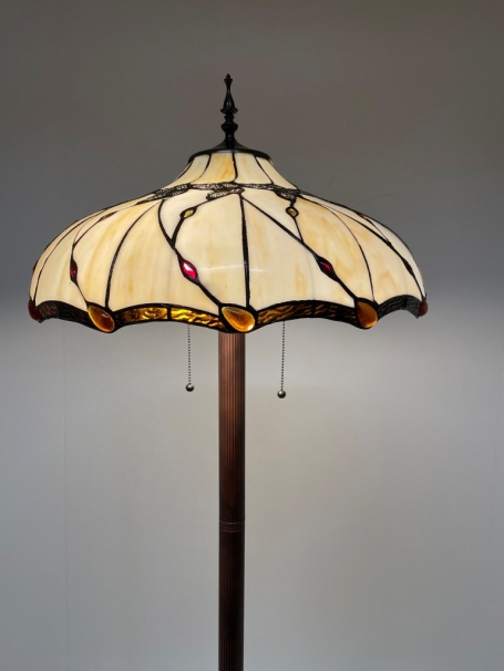 Tiffany vloerlamp Butterfly 50 Base II