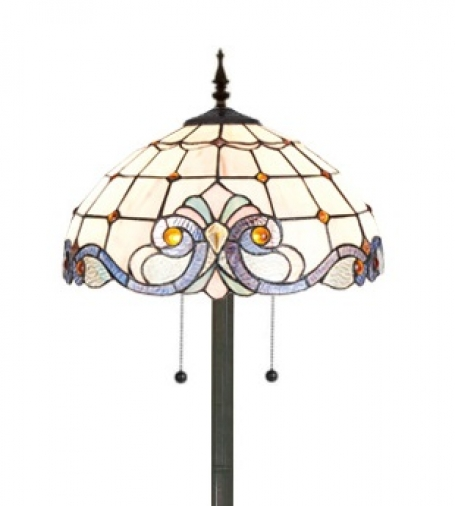 Tiffany vloerlamp Kingston 40/9454