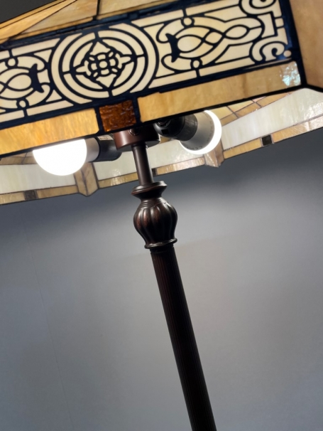 Tiffany vloerlamp Luxembourg 53 / F2
