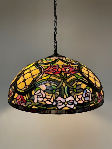 Tiffany hanglamp Floreale 50/98 3 fittingen